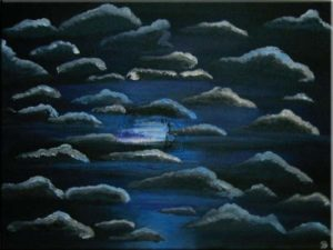 """Blue Moon"" (40 x 30)"