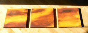 """Dawning"" (Triptychon 90 x 30)"