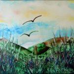 """""""Landscape 1"""" (29,7 x 21)"""