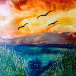 """""""Landscape 2"""" (29,7 x 21)"""