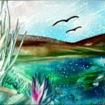 """""""Landscape 3 s"""" (14,8 x 10,5)"""