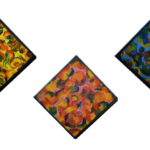 """Rainbow Warriors"" (Triptychon 90 x 30)"
