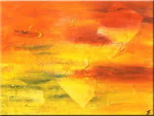 """""""Savanne I"""" (40 x 30)"""