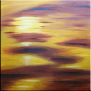 """Sunset II"" (60 x 60)"