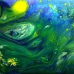"""Underwater Sun"" (70 x 50)"