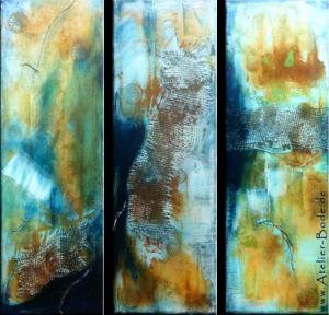 """Rust Net"" (3 x 20 x 60)"