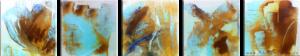 """Rust Study"" (5 x 20 x 20)"
